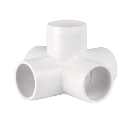 "5 way X ¾"" - Furniture Grade 5-way PVC Cross"