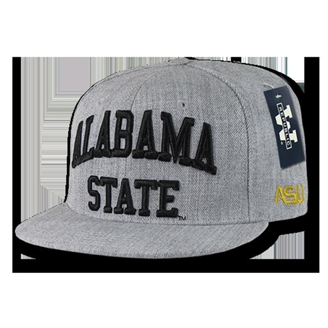 W Republic Game Day Snapback Alabama State University, Heather Grey