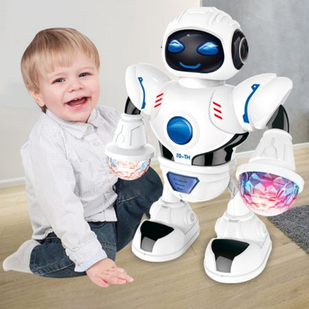 Electronic remote control robot dancing robot learning toy 2019 version of children intelligent action dancing remote control robot toy music