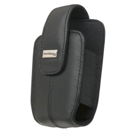 5 Pack -OEM Blackberry Curve 8300 8310 8320 8330 Lambskin Leather holster with swivel belt clip , Black