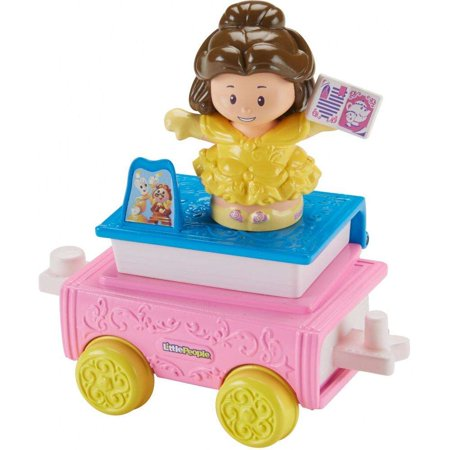 Disney Princess Parade Belle & Chip Float by Little People - Disney Princess Bella