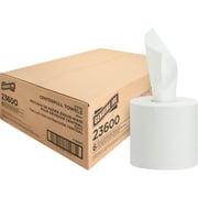 Genuine Joe Centerpull Paper Towels, White, 6 / Carton (Quantity)