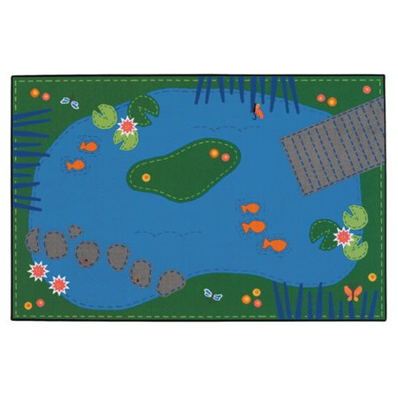 Carpets for Kids Value Plus Tranquil Pond Area Rug