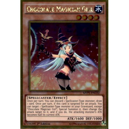 YuGiOh Dark Side of Dimensions Gold Edition Chocolate Magician Girl