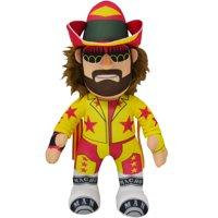 "Bleacher Creatures WWE 10"" Plush Figure Macho Man Randy Savage Yellow/Pink"