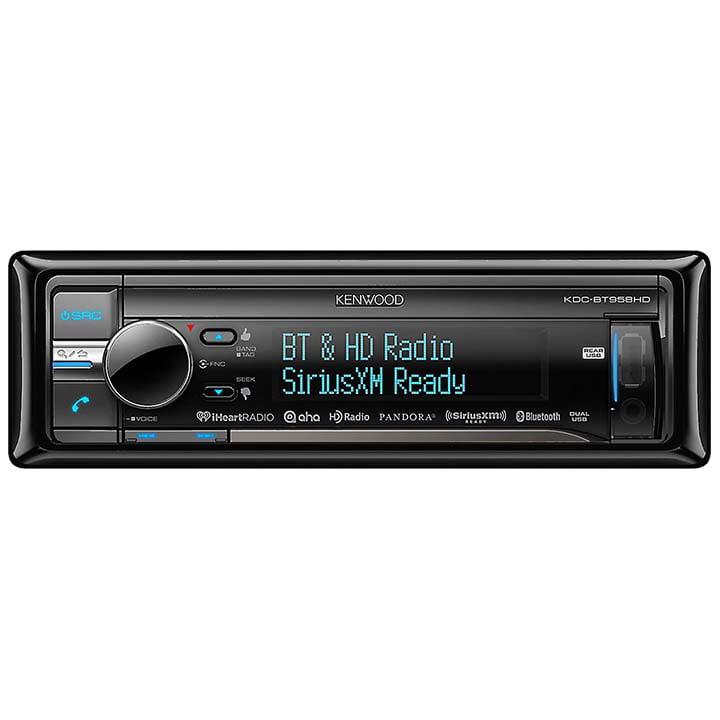 Kenwood CD Receiver Bluetooth HD Radio USB SiriusXM Ready