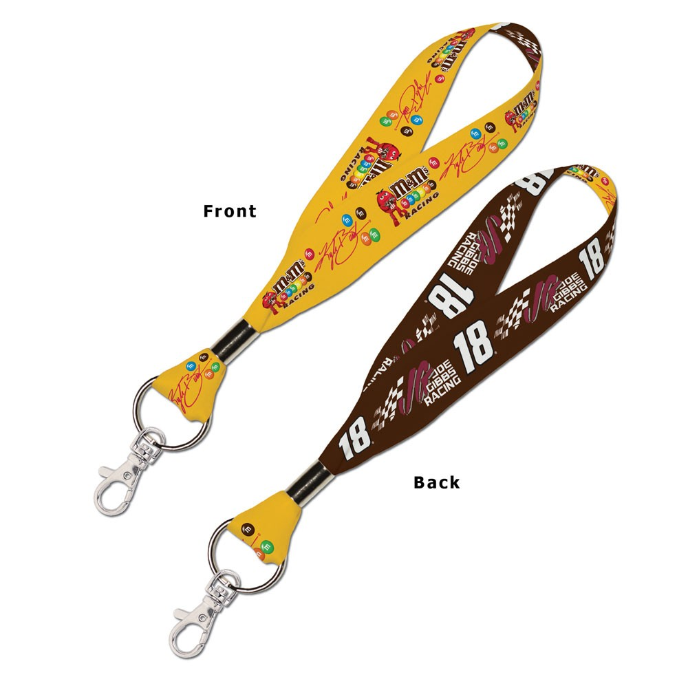 Kyle Busch Official NASCAR 8 inch  Lanyard Key Chain Keychain by Wincraft