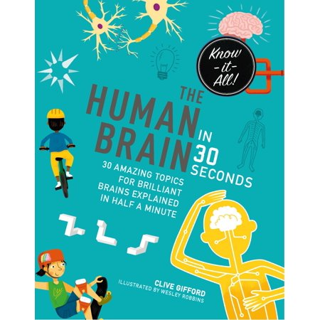 The Human Brain in 30 Seconds : 30 amazing topics for brilliant brains explained in half a minute