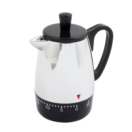 Electric With Timer Coffee Maker - 4x3.4x2.2-Inch 60 Mins Mechanical Kitchen Timer Coffee Pot Design