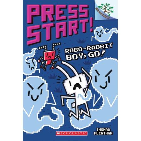 Robo-Rabbit Boy, Go! : A Branches Book