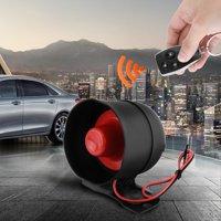 Car Security Alarm Anauto Car Auto Vehicle Burglar Alarm Keyless Entry Security Alarm System with 2 Remote Burglar Security
