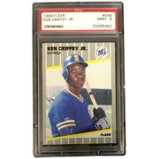 Ken Griffey Jr. Seattle Mariners 1989 Fleer #548 Trading Card PSA Slabbed MINT 9