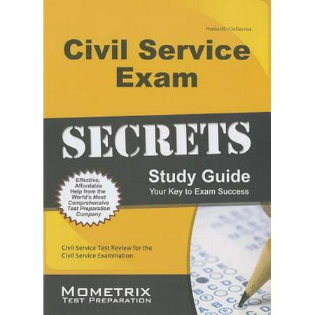 Civil Service Exam Secrets Study Guide : Civil Service Test Review for the Civil Service