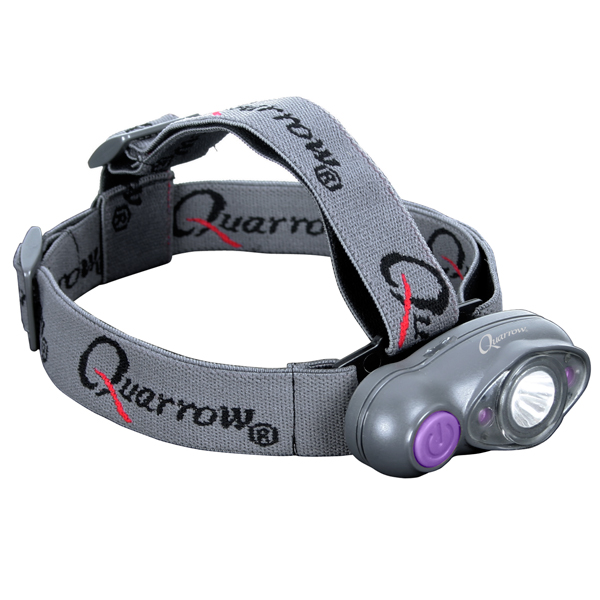 NEBO Tools - 5483 Quarrow Tri-Eye LED Head Lamp - Green LEDs