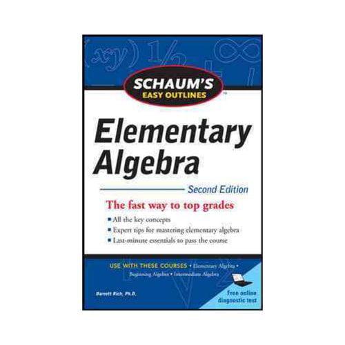 Schaums Easy Outline Elementary Algebra Corporate Perks Lite Perks