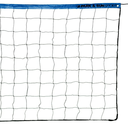 Park & Sun Sports VN-2 Recreational Rope Cable Volleyball Net