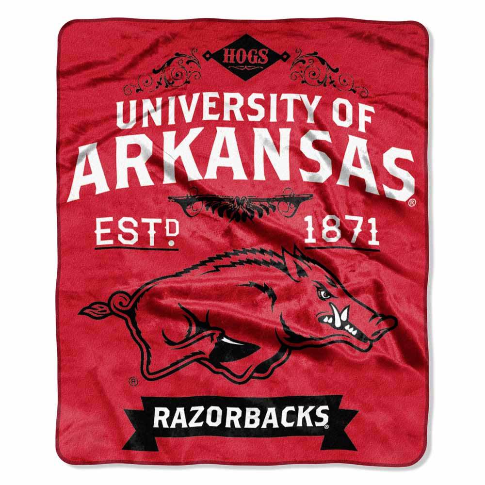 Arkansas Plush Blanket