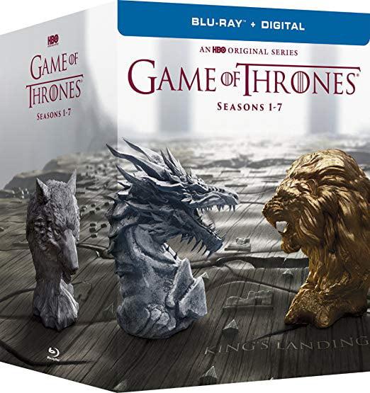 Game Of Thrones Seasons 1 7 Box Set Blu Ray Digital Walmart Com Walmart Com