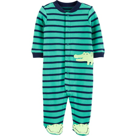 Child of Mine by Carter's Baby Boy Snap-up Sleep 'N Play Pajamas