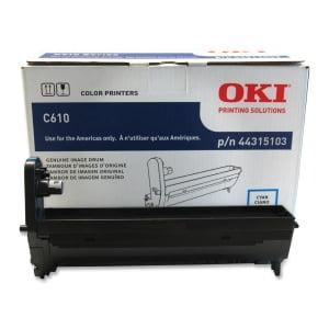 Oki Imaging Drum Unit - 20000 Page - 1 Each FOR C610 20K ...