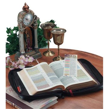 Italian Stone Design Genuine Leather Bible Cover