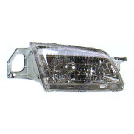1999-2000 Mazda Protege  Aftermarket Passenger Side Front Head Lamp Assembly (2000 Mazda Protege Headlight)