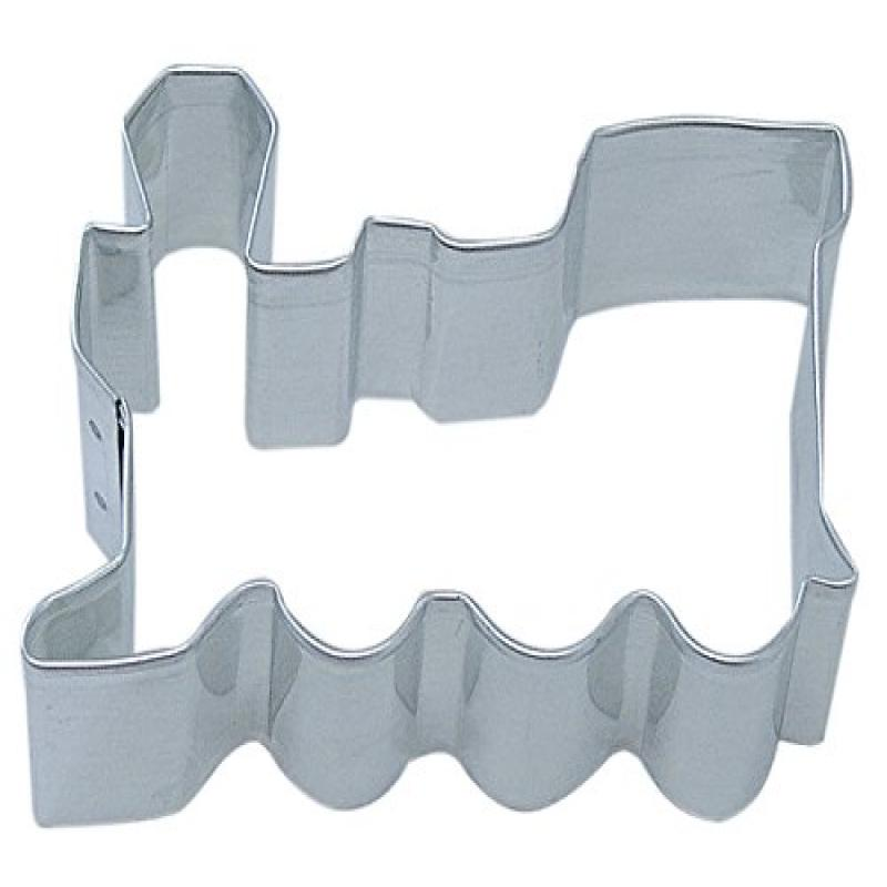 """R&M Locomotive 3"""" Cookie Cutter Stainless Steel in Durable, Gleaming, Polished Stainless Steel"""