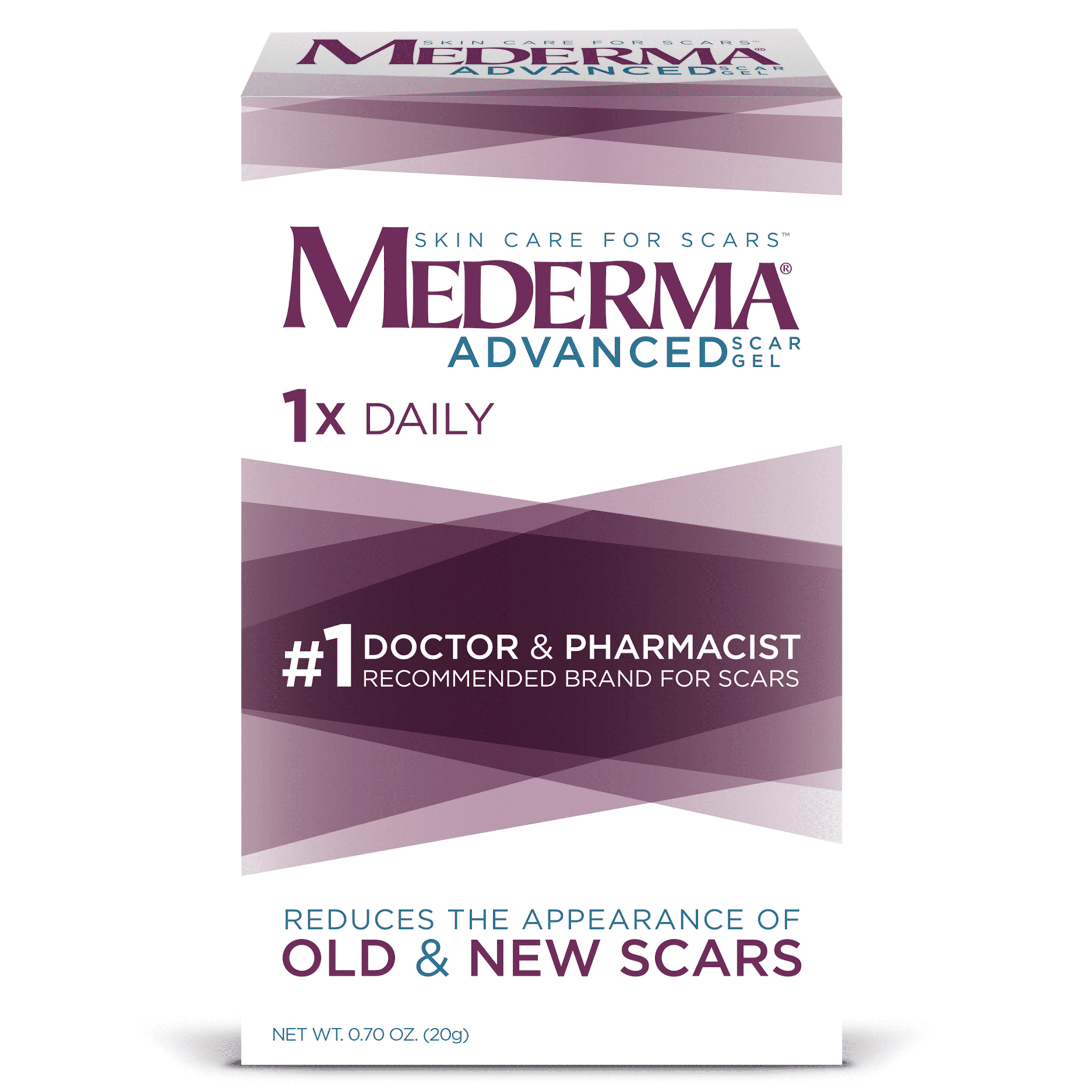 Mederma Advanced Scar Gel 0 7 Oz Walmart Com Walmart Com