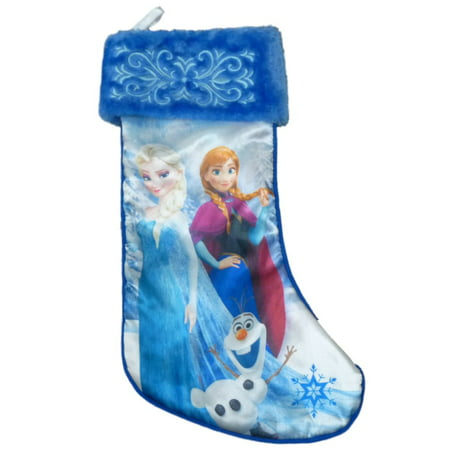 blue frozen disney queen elsa holiday christmas stocking - Elsa Christmas Decoration