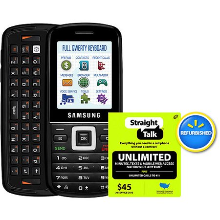 straight talk samsung t401g phone with 45 card. Black Bedroom Furniture Sets. Home Design Ideas
