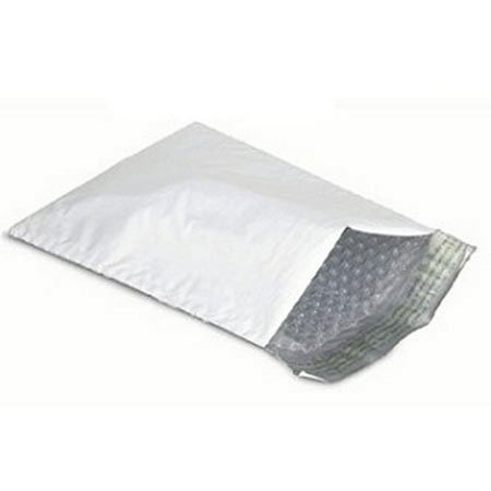 50 4x8 Poly Bubble Mailers Padded Envelope Shipping Bags Usable 4