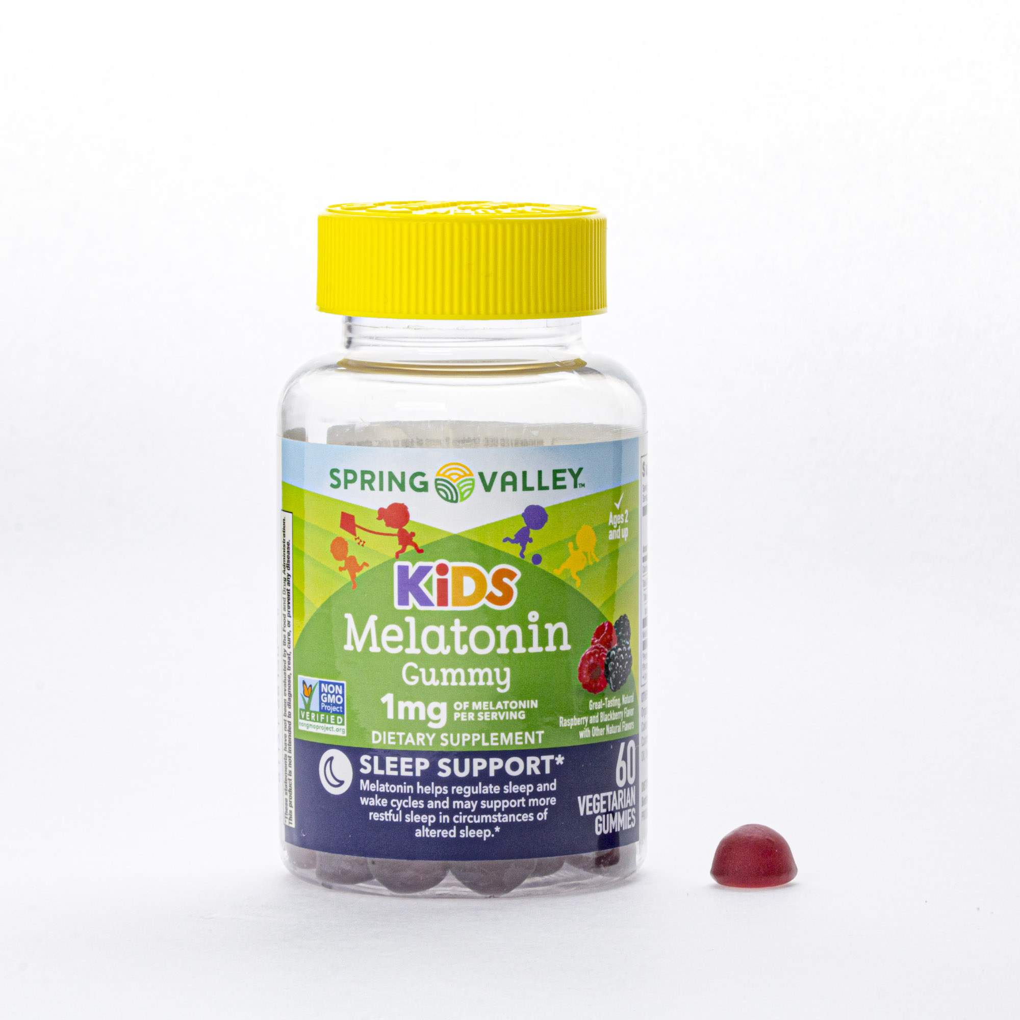 Spring Valley Kid S Melatonin Dietary Supplement Vegetarian