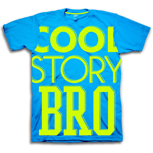 Mens Cool Story Bro Graphic Tee