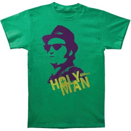 Blues Brothers Mens  Holy Man Slim Fit T Shirt Green