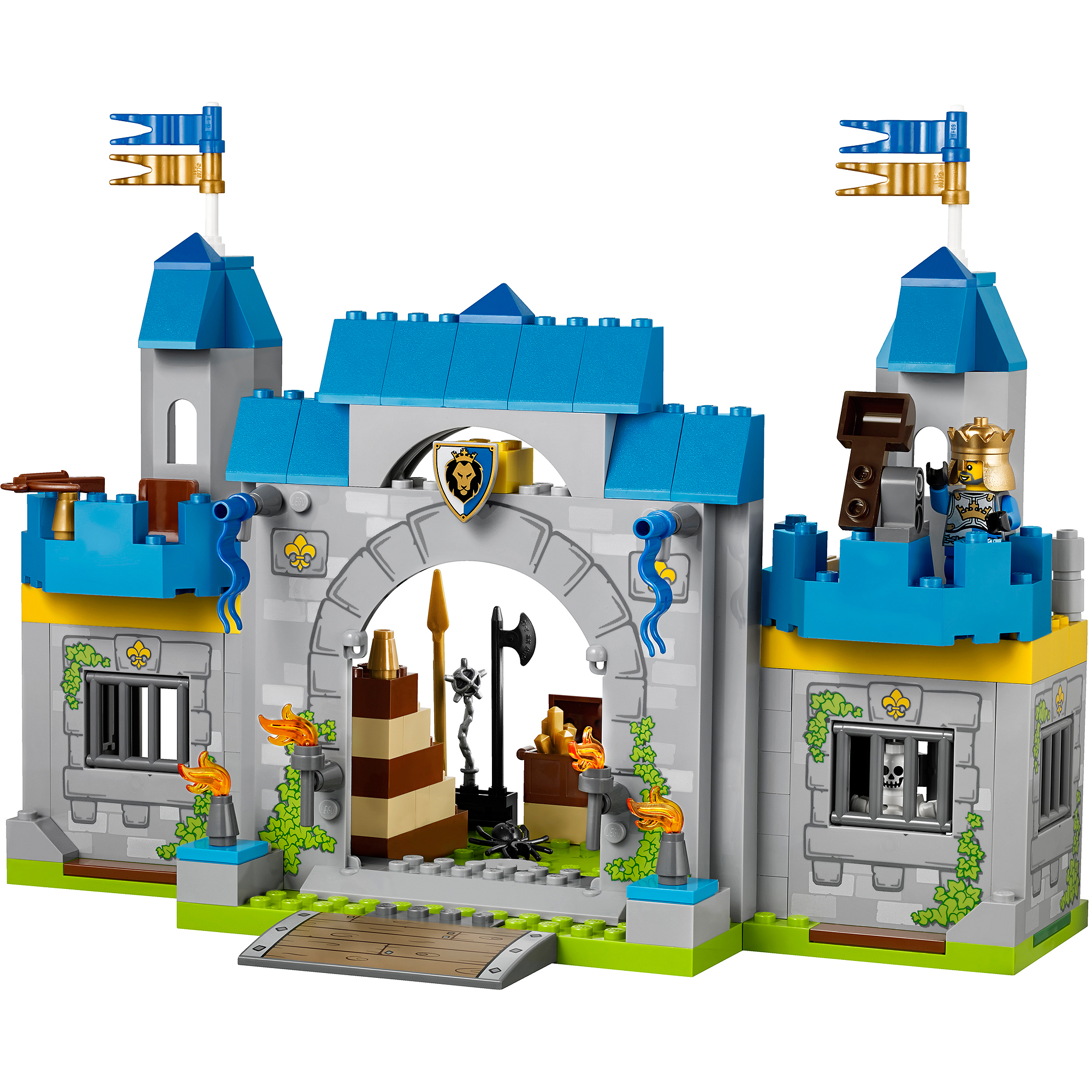 LEGO Juniors Knights' Castle - Walmart.com