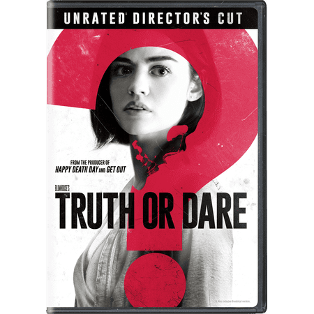 Blumhouse's Truth Or Dare (Unrated Director's Cut) (DVD) - Movie Director Clapboard