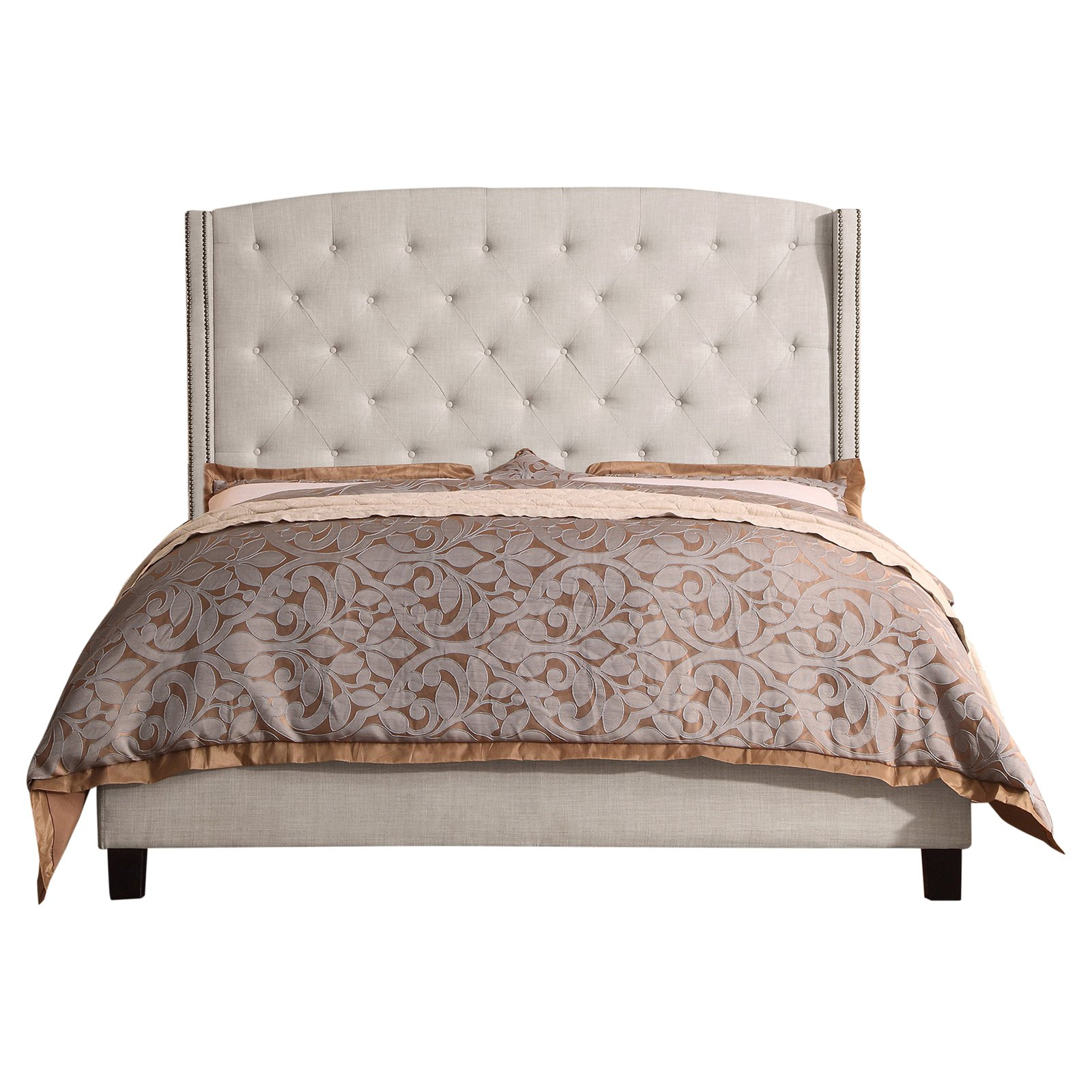 Rosevera Destiny Upholstered Wingback Headboard