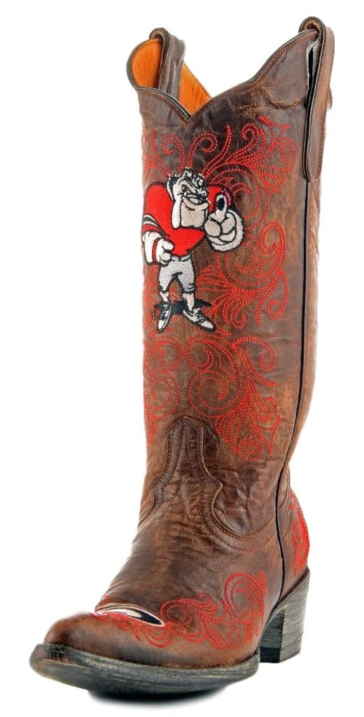 83380aca513 Gameday - Gameday Women's University Of Georgia Cowgirl Boot Pointed ...