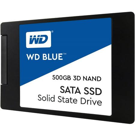 WD BLUE 3D 500GB NAND SATA 2.5â 7mm SSD -
