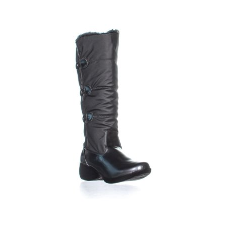 Womens Khombu Flurry Knee-High Winter Boots, Pewter, 5 -