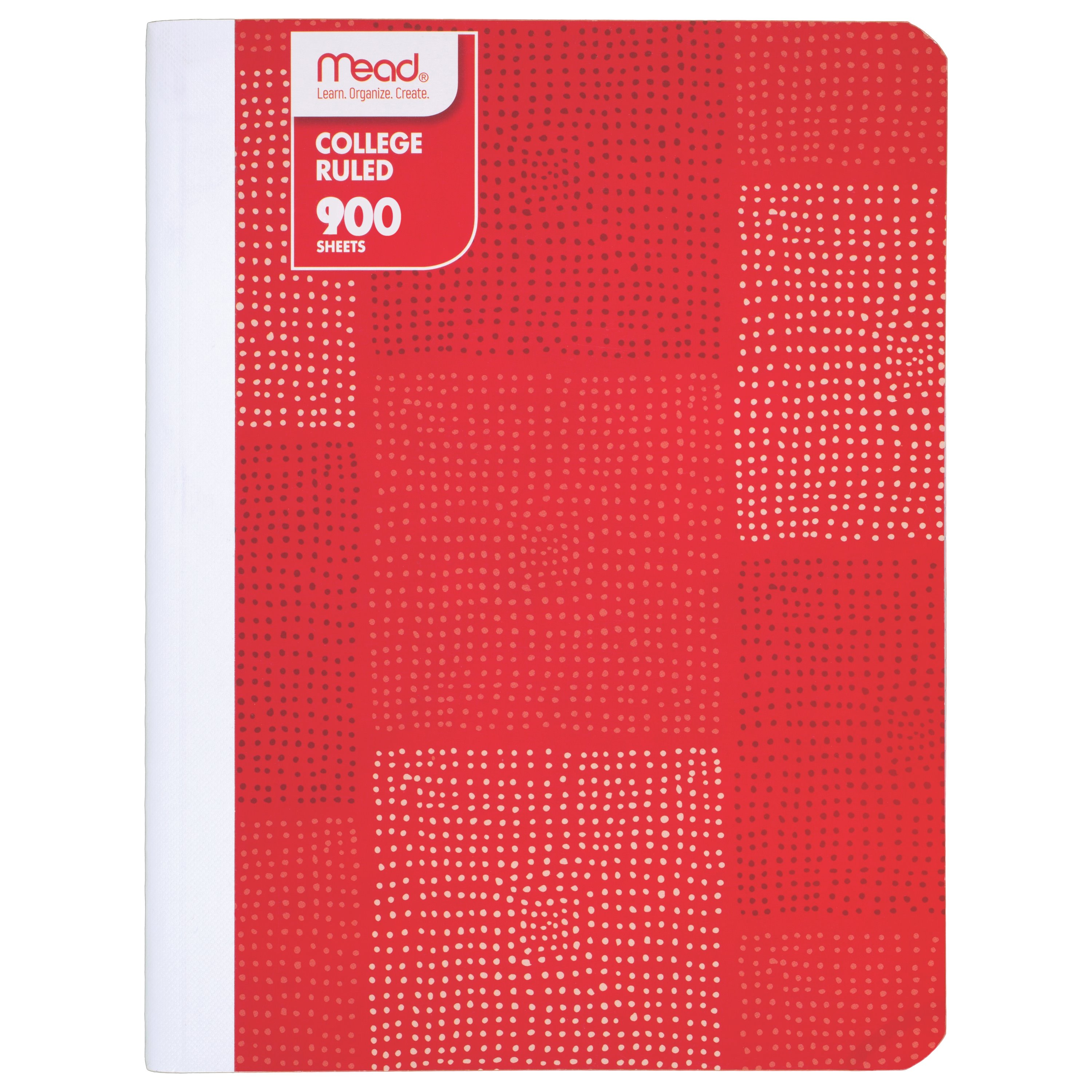 Mead Fashion Composition Book, College Ruled, 100 Sheets, Color May Vary
