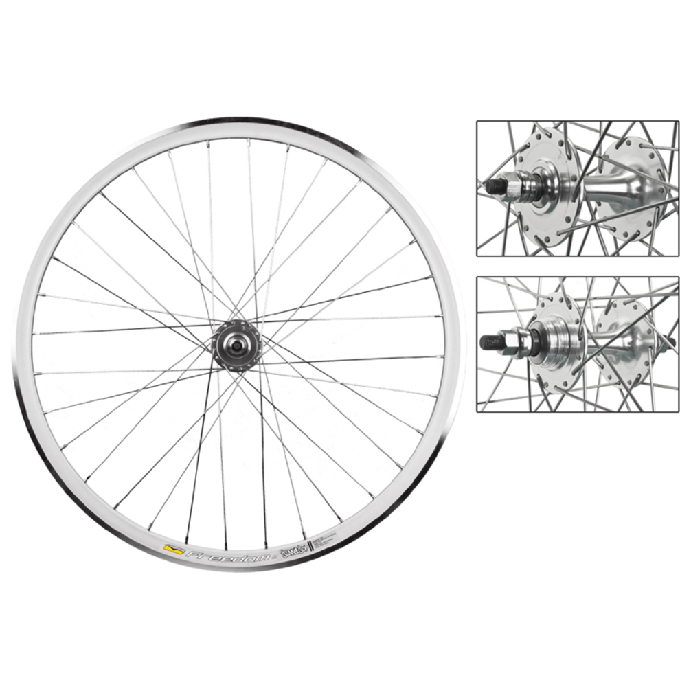 WTB Tunnel Top Fixie Wheelset 700c Silver 1-Speed FX/FW