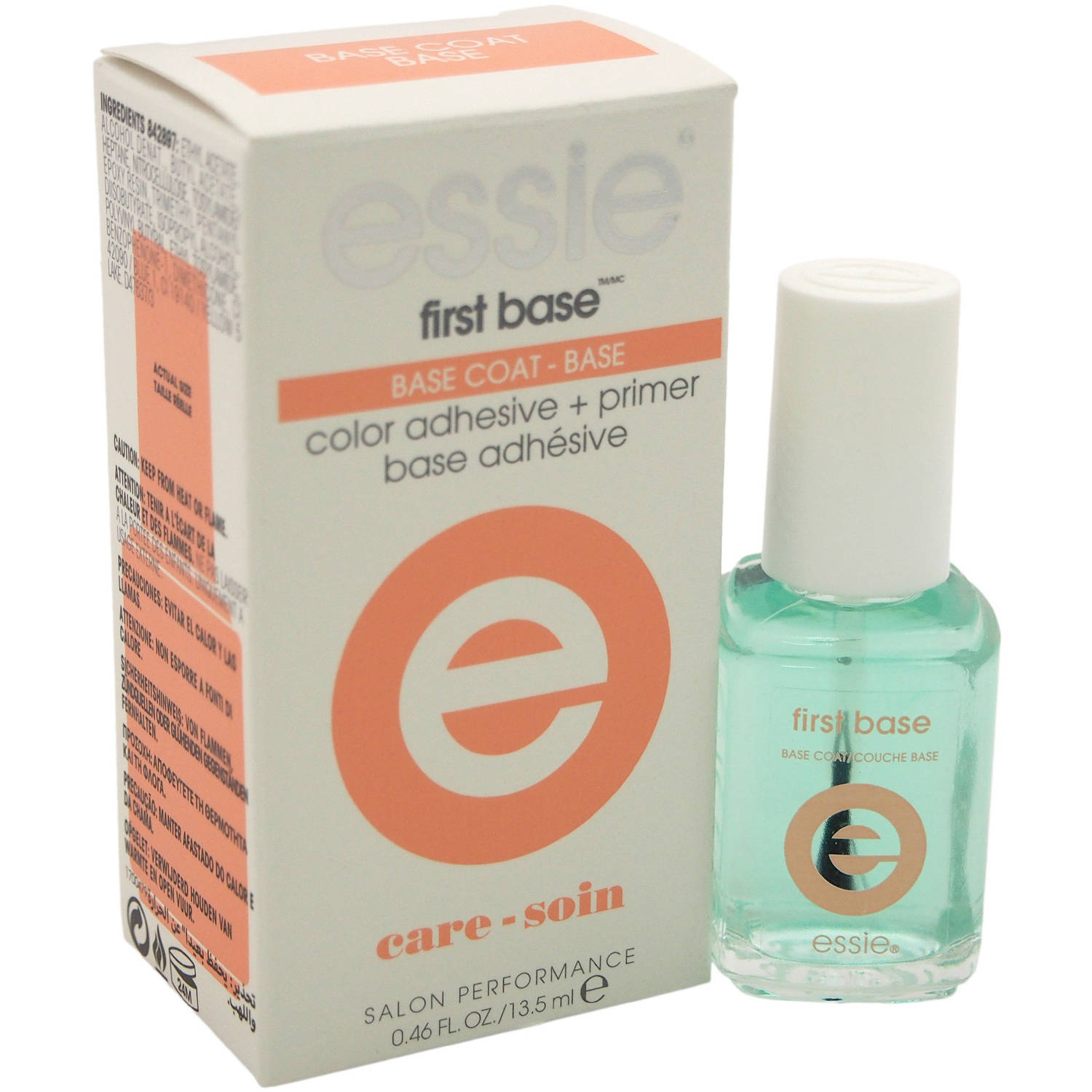 essie First Base Base Coat Nail Polish, 0.46 fl oz