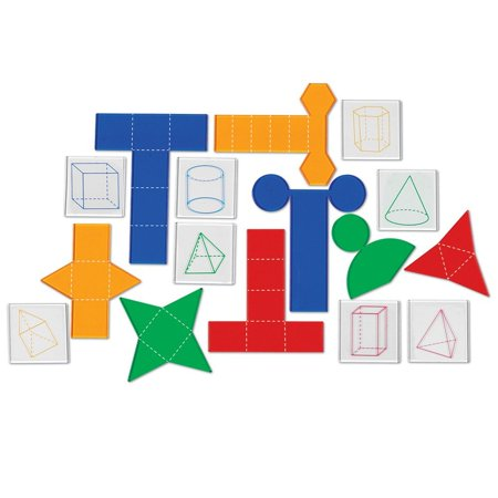 Learning Resources Overhead Folding Geometric Shapes ()