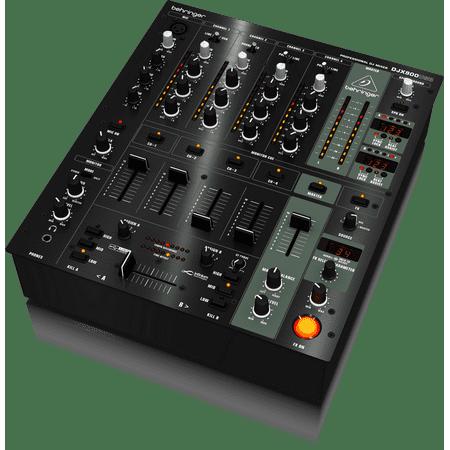 "Behringer PRO MIXER DJX900USB Professional 5-Channel DJ Mixer w/ infinium ""Contact-Free"" VCA Crossfader, Advanced Digital Effects & USB/Audio (Best Digital Mixer For Logic Pro X)"