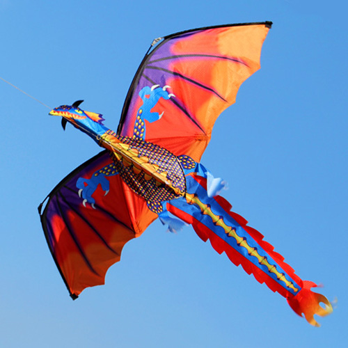 Large Kites To Fly Outside Kites On Sale Kites For Kids Kites To Fly Outdoors Single Line Dragon Kite Children Toys