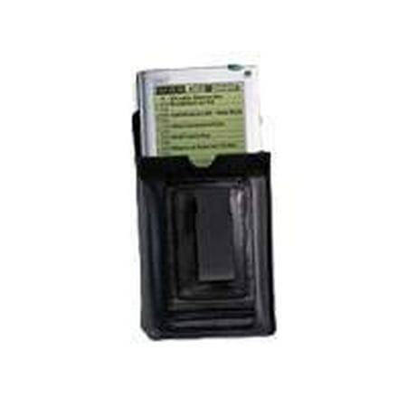 Palm Leather Belt Clip Case - Carrying case - black - for Palm V, Vx