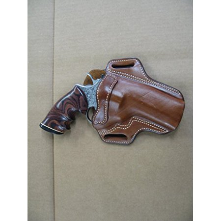 AZULA Leather 2 Slot Pancake Belt Holster  for Ruger GP100 Revolver 4