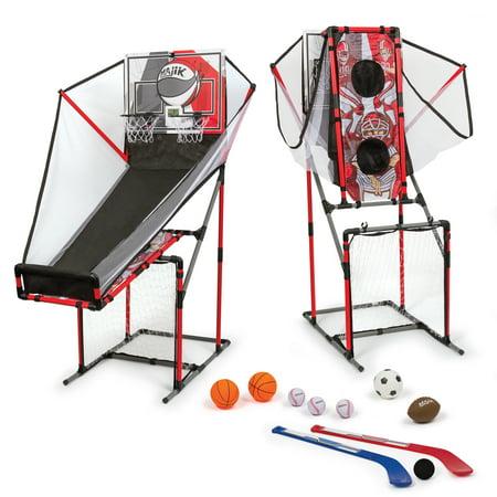 c3d7861013dae Majik 5-in-1 Arcade Sport Center Game System - Walmart.com