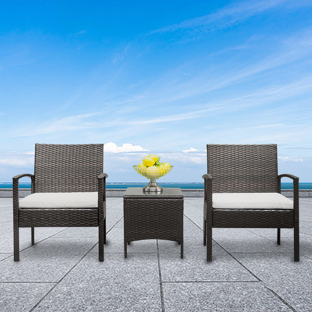 3 Pieces Patio Furniture Sets on Sale, Patio Chairs ...